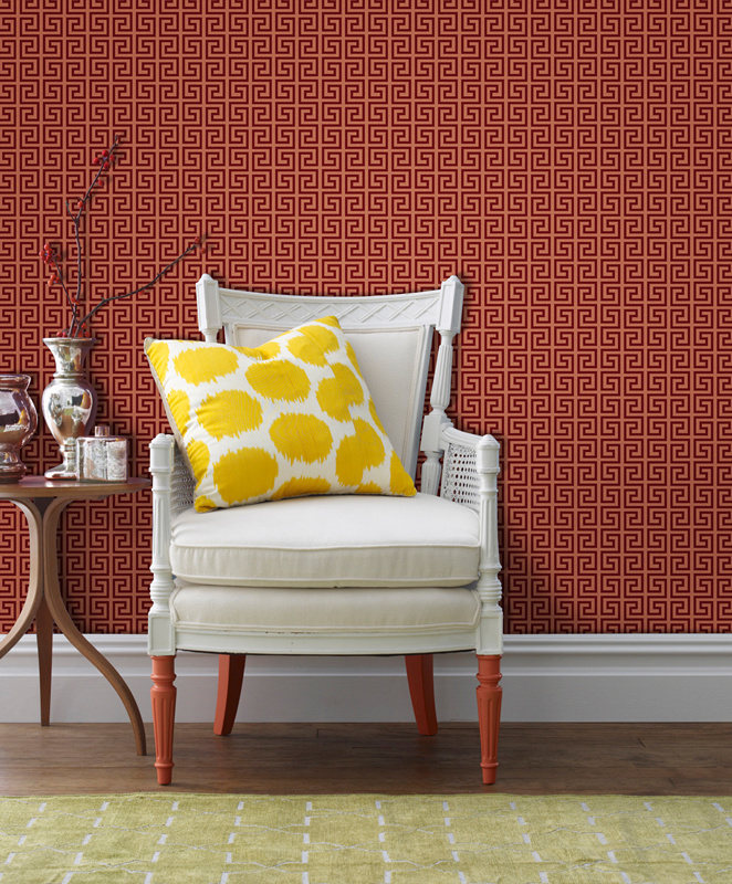 Flocking Wall Covering